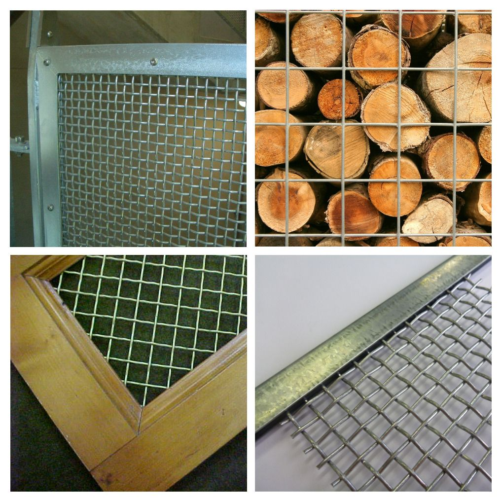 working with wire mesh
