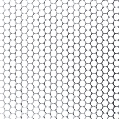R07962 Perforated Metal Sheet: 7.9mm Round, 62% Open Area